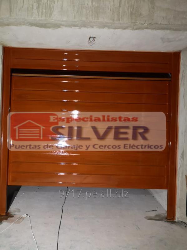 Pedido Motor para puertas levadizas seccionales cercos eléctricos ESPECIALISTAS SILVER.