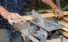 Servicio de fabricación de madera aserrada