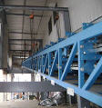 Custom installation of industrial machinery