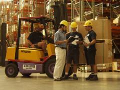 Temporary storage warehouses