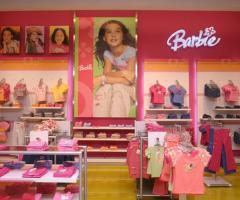 Diseño y muebles para tienda de niñas