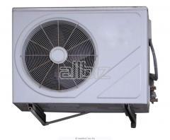 Alquiler y arriendo del equipo para calentamiento, refrigeracion y acondicionamiento del aire
