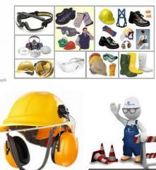 Artículos  de seguridad industrial.
