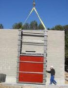 Servicios de reparación y mantenimiento del equipo de puertas y compuertas industriales
