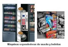 Máquinas expendedoras de snacks y bebidas