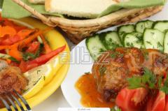 Catering services for tourist entry tourism