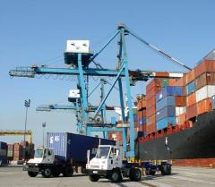 Recurring weighing of bulked cargo at port