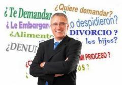 Profesionales abogados de derecho