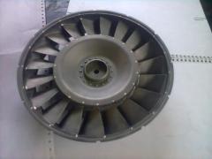 Reparación de estator de compresor