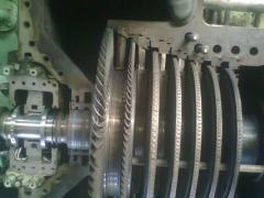 Reparación de Cojinetes y Sellos de Turbina