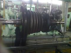 Levantamiento de Turbina, para su Montaje