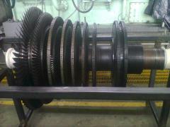 Izamiento de Turbina, para su Montaje