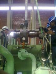 Montaje de la carcaza de estator de Turbina
