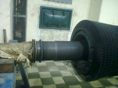 Reconstrucción de Eje y Etapas del Turbo Generador