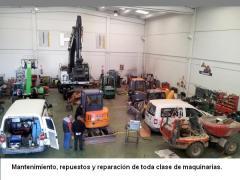 Mantenimiento, repuestos y reparación de toda clase de maquinarias.