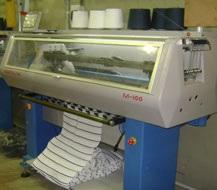 Maquinaria especializada de prendas de vestir
