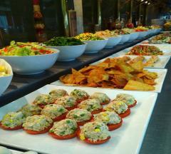 Buffet, banquetes