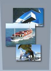 Transporte internacional de carga aerea, maritima - FCL y LCL - y terrestre