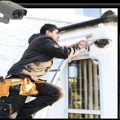 Seguridad electrónica, sensores de movimiento, video vigilancia, control de acceso.