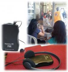 Renta de equipos audiovisuales y de traducción simultánea