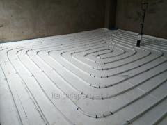 Instalaciones de pisos radiantes.