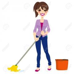 Empleada todo servicio, para el servicio del hogar todos los beneficios de ley