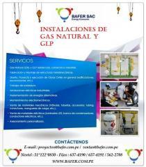 INSTALACIONES DE GAS NATURAL Y GLP