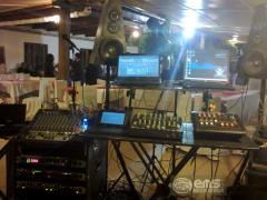 Servicio de equipo de sonido