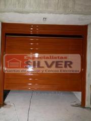 Motor para puertas levadizas seccionales cercos eléctricos ESPECIALISTAS SILVER.