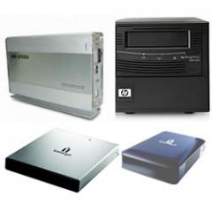 Soluções de armazenamento e backup