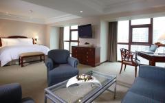Hotel room: semi-lux