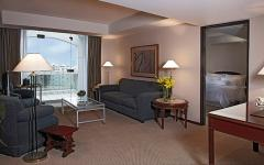 Hotel rooms: high comfort