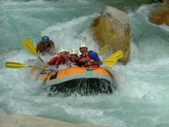Rafting en el Río