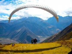 Parapente en Chincheros en Cusco