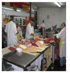 肉加工和包装服务