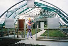 Servicio de instalación de invernaderos