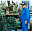 Adjustment and service of pneumatic equipment