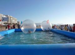 Waterballs con piscina