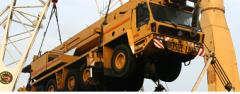 Transporte y manejo de maquinaria pesada