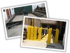 Services in repair, maintenance service of weights