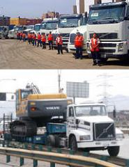 Services of transport and forwarding agencies
