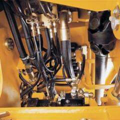 Repair and adjustment of the hydraulic equipment