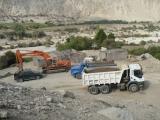 Construcción y mantenimiento de carreteras, vías,