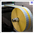 Sobreenvoltura  de  3 colores en papel bond para la elaboracion  de etiquetas de café filtrante